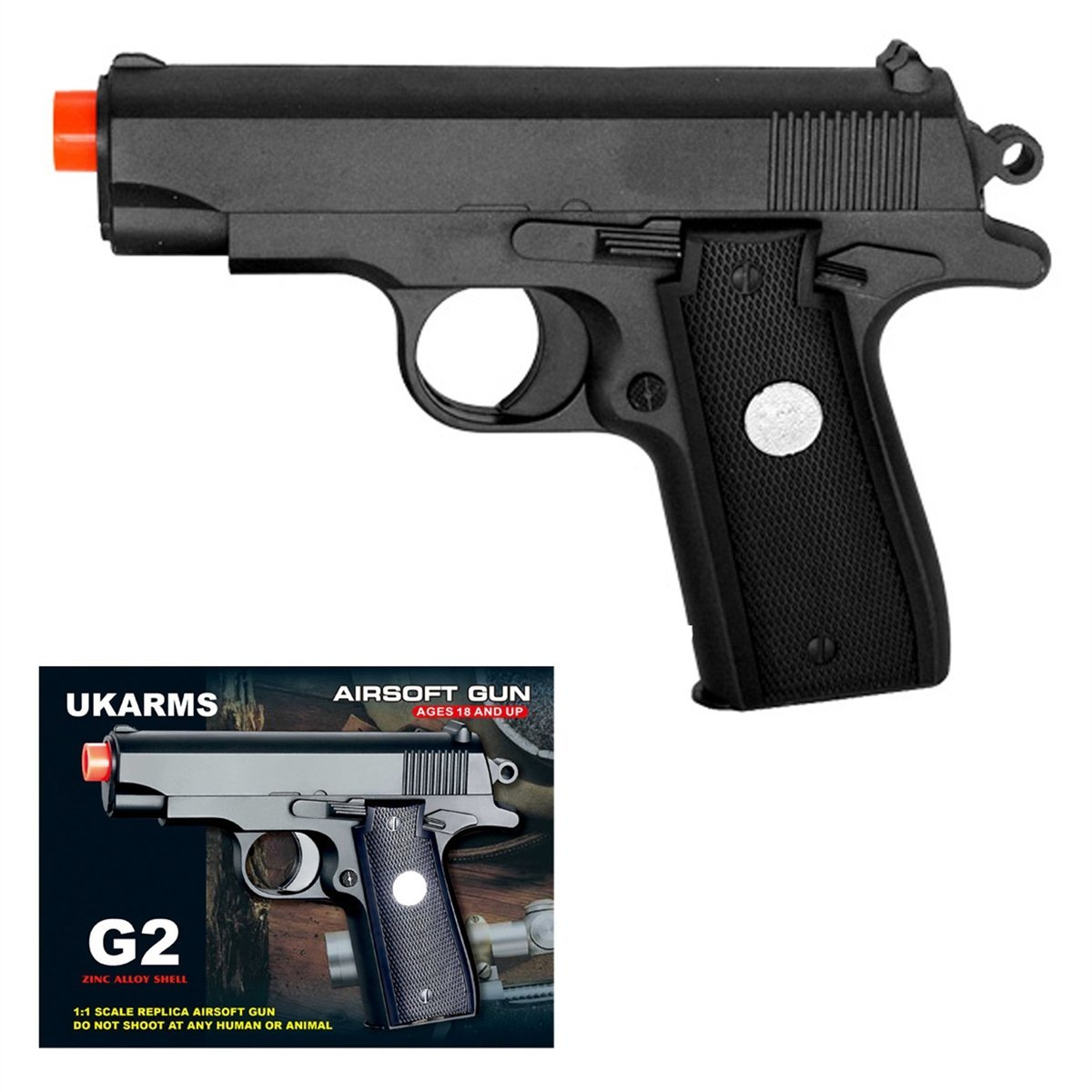 G2 Full Metal Airsoft Handgun