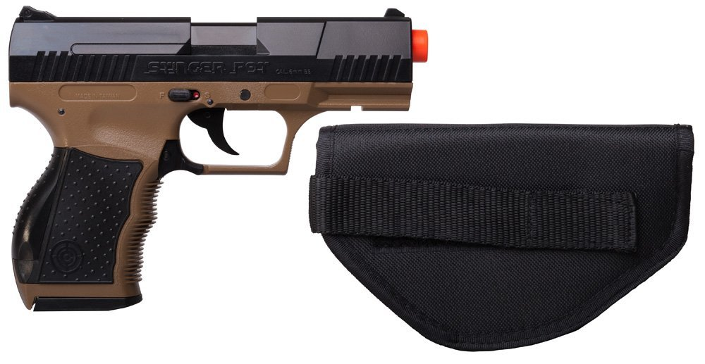 Stinger P9T Airsoft Pistol Kit Review