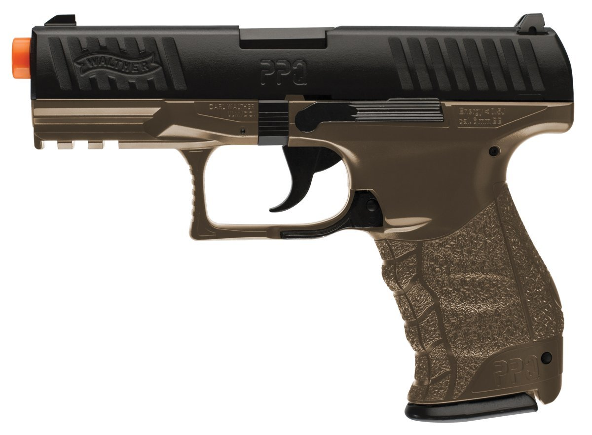 Walther PPQ Spring Airsoft Pistol Review